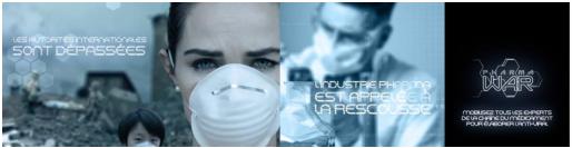 Pharma War : serious game sur les métiers de l'industrie pharmaceutique