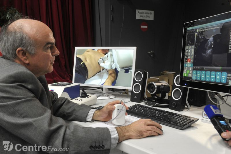 Consultation à distance en cardiologie : une première mondiale en Limousin