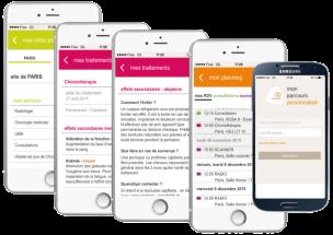 MyCurie : application pour faciliter le quotidien des patients