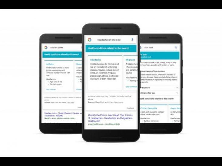 Google se lance dans le conseil médical