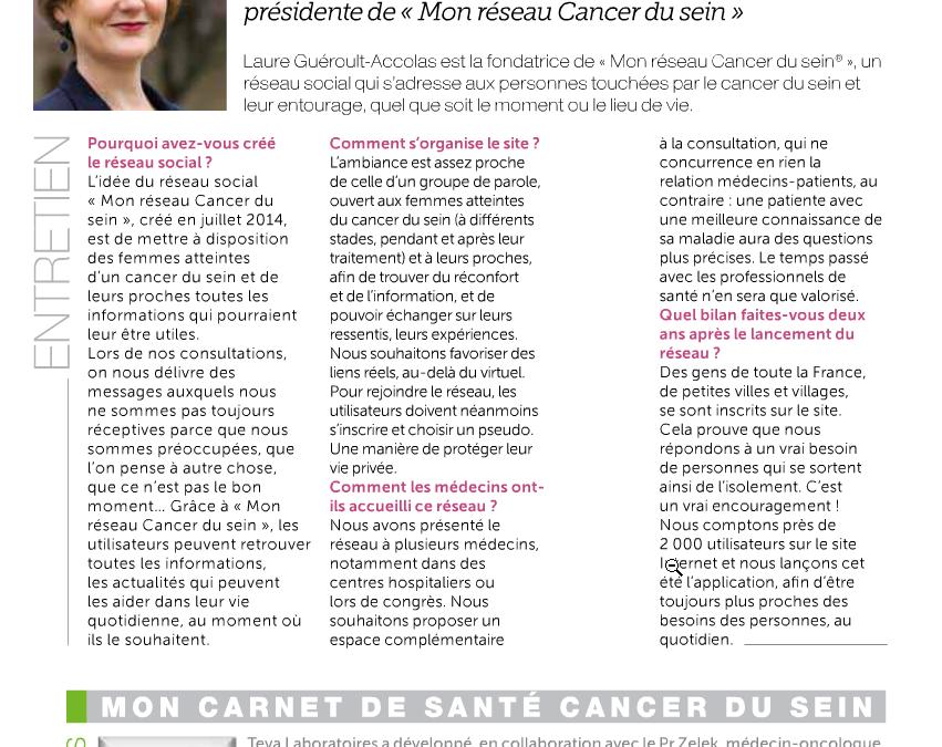 Face au cancer, l'union 2.0 fait la force
