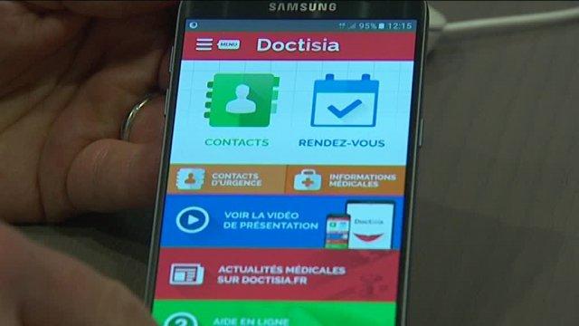 Doctisia, l'appli qui transforme votre smartphone en carnet de santé