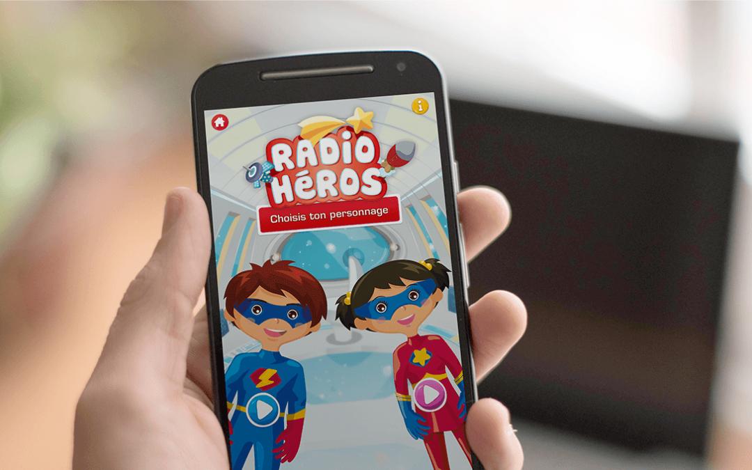 Radio Héros, dédramatiser l'examen radiologique auprès des enfants.