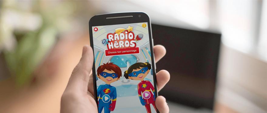 <strong>Radio Héros</strong>, dédramatiser l'examen radiologique auprès des enfants.